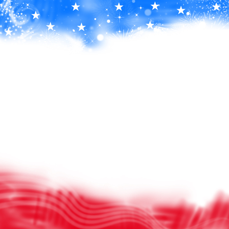 United States Patriotic background Banco de Imagens - 58234100