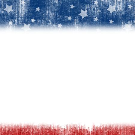 アメリカ合衆国愛国的な背景に抽象的なイラスト 写真素材