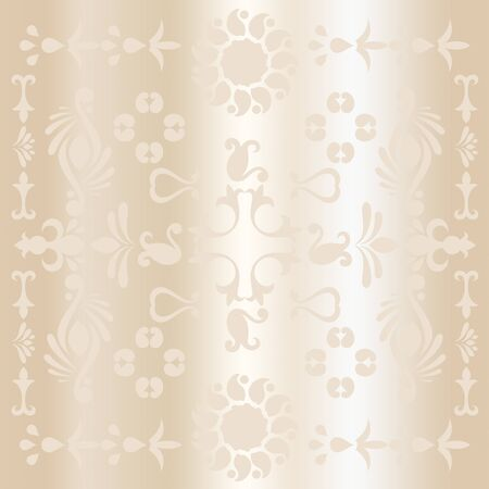 joyous festivals: Abstract gift voucher background in dull gold for Christmas and New Year holidays