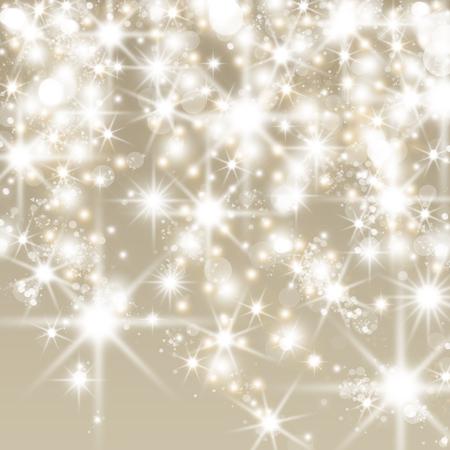 Abstracte vakantie achtergrond met clusters van heldere enorme witte fonkelende sterren