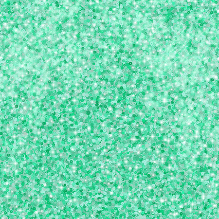 An abstract illustration of a mint color glitter background designed with multiple sequins Stock Photo