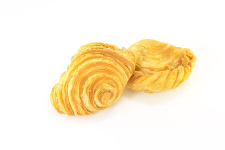 curry puffs isolated photo
