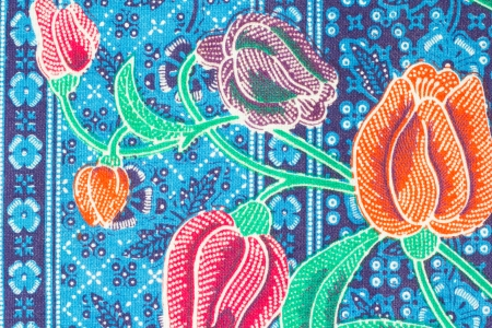 Colorful Batik Sarong Pattern Background photo