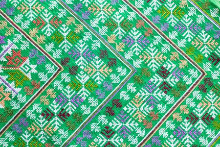 gestickt: bestickten Stoff Textur, Hintergrund