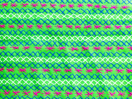 embroidered fabric texture , background