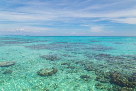 Rok island seascape at Krabi, Thailand.