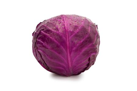 Red Cabbage isolated on white background Zdjęcie Seryjne - 150279143