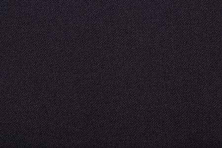 Black fabric cloth texture background.