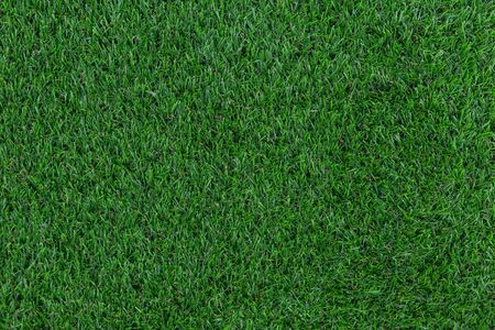 Green artificial grass pattern and texture for background. Stockfoto