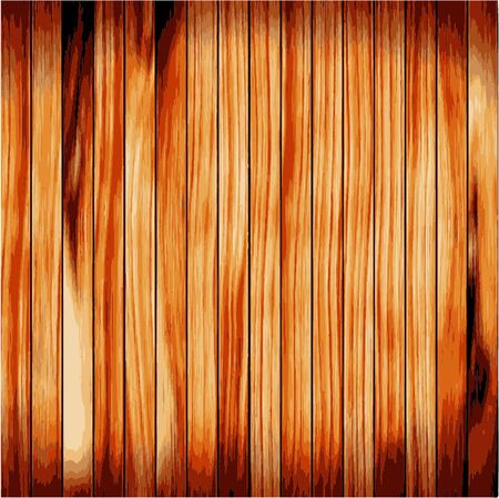 boarded: Wood plank brown texture background Illustration