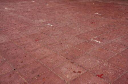tile flooring: texture tile flooring crossed, aging effect