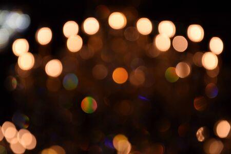 led light: blurred image bokeh background,Light from LED light