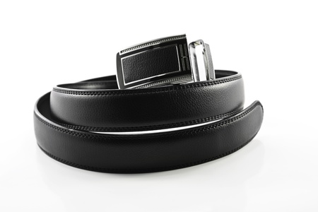 men s leather belt photo
