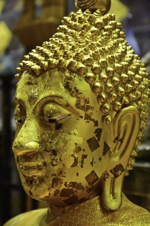 aureate: buddha head
