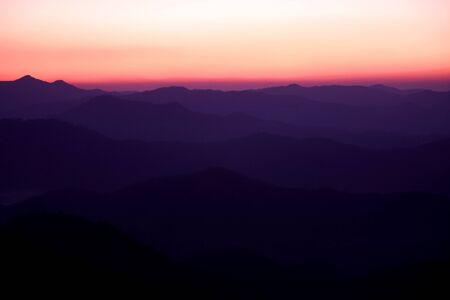 sierra: Twilight sierra Stock Photo