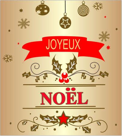 Christmas GOLD background Illustration