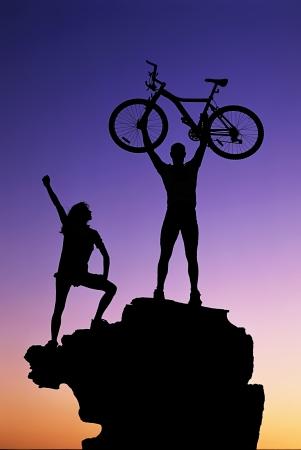 Success in life Standard-Bild