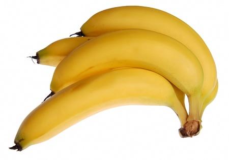 A Bunch of fresh, helathy yellow bananas   Stock Photo