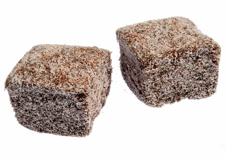 Tasty Lamington cakes, an Australian tradition