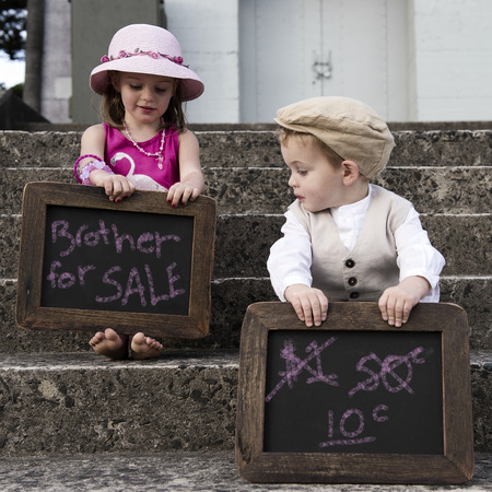 Sister selling her brother