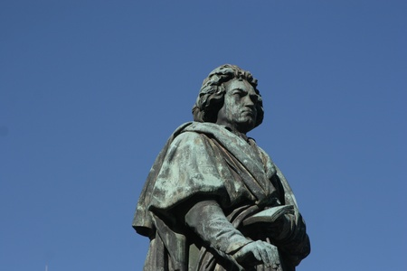 beethoven: Beethoven monument in the city of Bonn