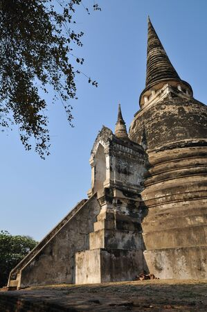 Pagoda at Phra Nakhon Si Ayutthaya Stock Photo - 8710283