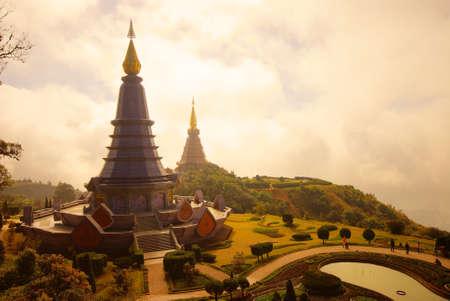 The pagodas - Chiangmai