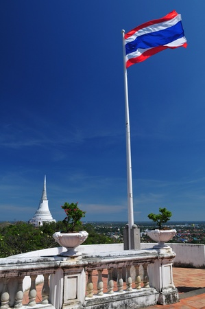 Pagoda of Phra Nakorn Kiri Palace photo