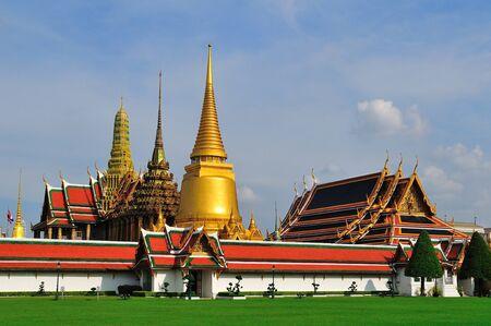 Wat Phra Kaew, Temple of the Emerald Buddha, Bangkok, Thailand photo