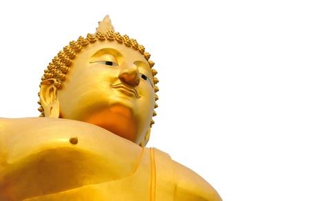 Giant buddha statue, Thailand Stock Photo