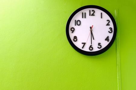 Clock showing 5 30 o clock