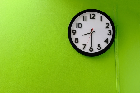 Clock showing 8 30 o clock