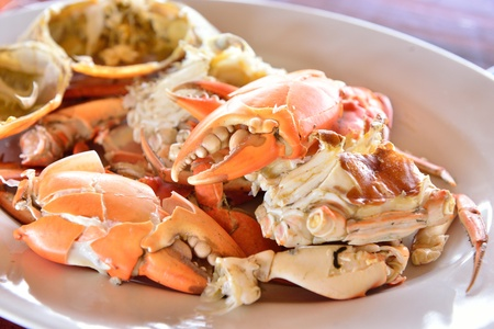 Hot Steamed Crabs photo