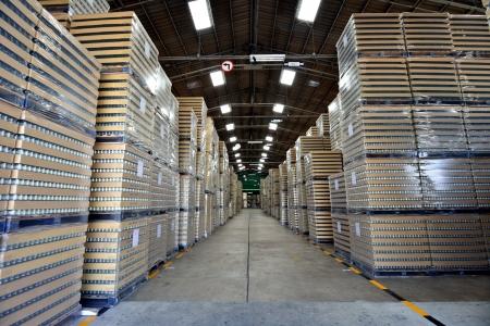Manufacturing warehouse