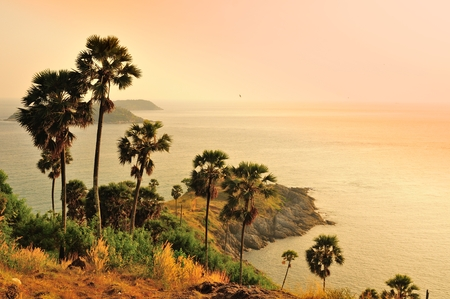 Famous cape, good viewpoint in Phuket, Thailand