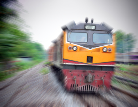 run faster: Fast train with motion blur