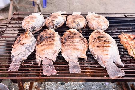 coal fish: Grilled Fish