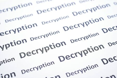 tilt: Seamless pattern with decryption word
