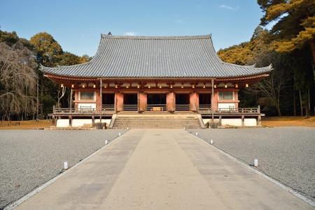 The main hall of Daigoji temple in Kyoto, Japan