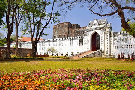 King Narais Palace, traveling place, Lopburi, Thailand