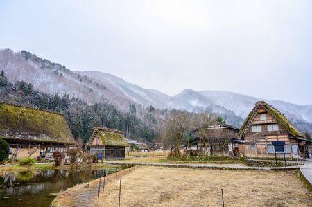 Shirakawago historic village, Ono district, Gifu prefecture, Japan 写真素材