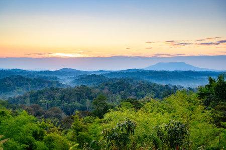 Phukho Sunrise Viewpoint at Namnao National Park, Phetchabun Province, Thailand
