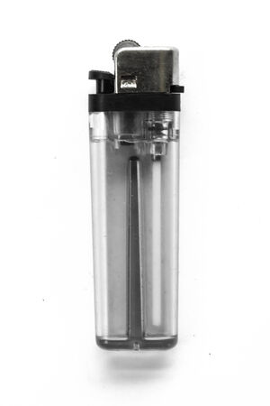 objected: Big Cigarette Lighter on a White Background