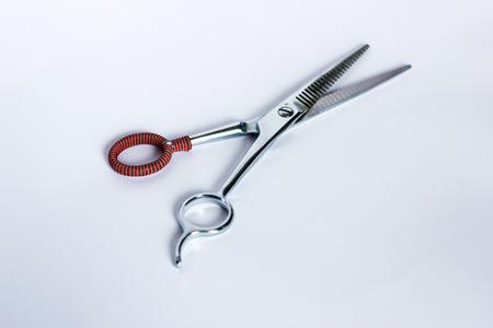 Hair scissor chop