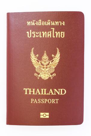 Thailand passport isolated Stock fotó