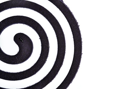 repellant: Purple Mosquito coil isolated