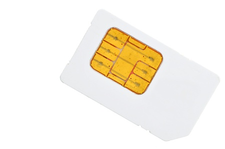 SIM card for cellphone Stock Photo - 14711546