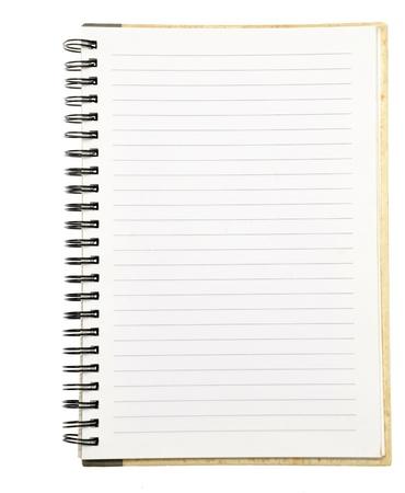 paper notebook right page Zdjęcie Seryjne