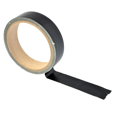 insulating tape isolated on a white photo