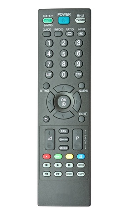 remote controls on the white background Stock Photo - 15775101